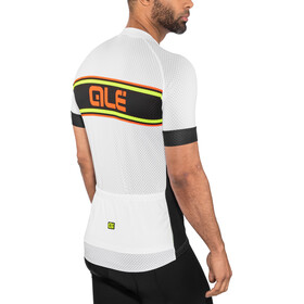 Alé Cycling Solid Vetta Shortsleeve Jersey Herren white-black
